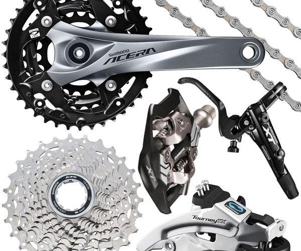 foto categoría componentes BM Tienda de venta y reparación de bicicletas en Leganes Fulcrum Madrid