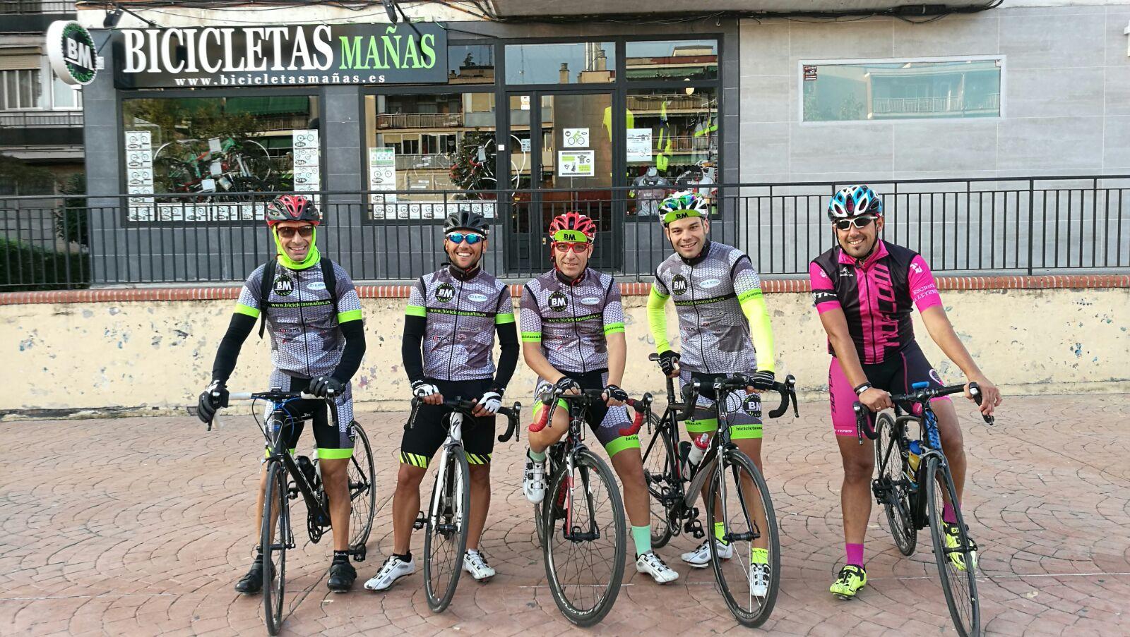 Grupeta_BM_Salida_La nueva_01_Biciletas Mañas BM-Tienda-de-venta-y-reparacion-de-bicicletas-Ridley-Madrid